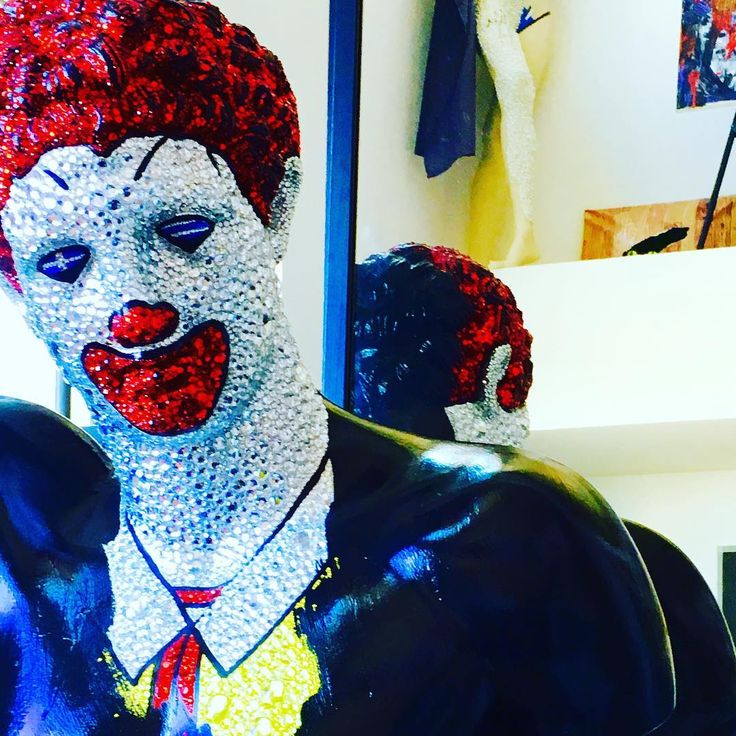 """""""The idea that clown, bad clown, could actually be president of the United States, it just insults all of us."""" -- Barry Diller.  #scaryclown @realdonaldtrump @hillaryclinton"""