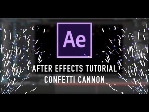 How to Make Confetti in AE [with no plugins!] | After
