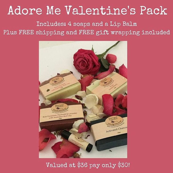 We all want to be adored 🌹With help from our 'Adore Me' gift pack that won't be a problem. Link in bio #natureyourself