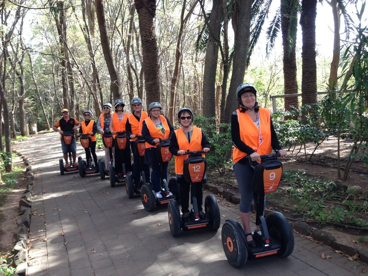 Our fabulous Segway morning on our Girls' Getaway in the Barossa!  So much fun...