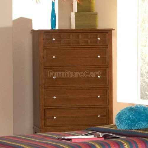 Coaster Furniture 400425 Aiden Chest in Warm Brown 400425 by Coaster Home Furnishings. $517.65. Give your child s bedroom a distinctive presence with the Aiden bedroom group. Crafted from select hardwoods and ash veneers, the group is finished in a warm medium brown tone.,Drawers are constructed with dovetailed sides for added strength and smooth drawer glides. Assembly required,Collection: Aiden Country of origin: Malaysia Frame Finish: Warm Brown Height: 48-1 4 Length...