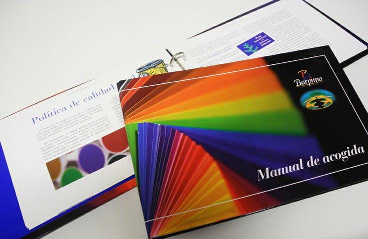 Elaboración de un manual de acogida para la empresa riojana Barpimo - Calle Mayor Comunicación y Publicidad