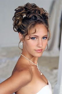 Wedding Up do Hairstyles Contained Elegant Style of Hair........love this up do