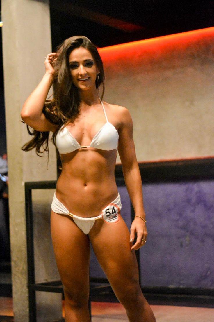 Leticia Mazzonetto No Concurso Garota Fitness Brasil 2016
