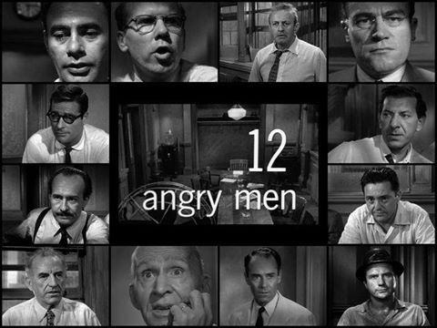 12 angry men 1957 Following the closing arguments in a murder trial, twelve members of the jury must decide the fate of an inner-city teen the deliberation process brings out the jurors' prejudices and preconceptions about the trial, the accused, and each other.
