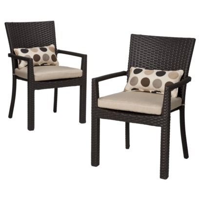lexus 2piece wicker patio dining arm chair set 27900 source outdoor furniture napa bar side u