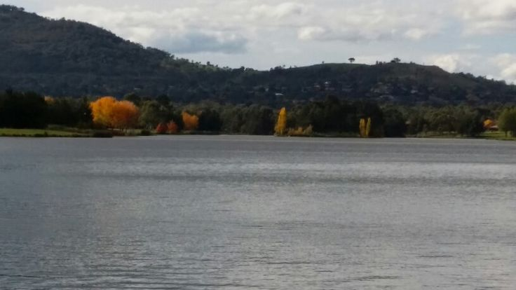 Tuggeranong Lake view