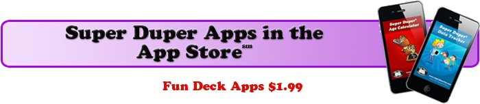 ALL @Super Duper Publications Apps are now $1.99!  Thanks!