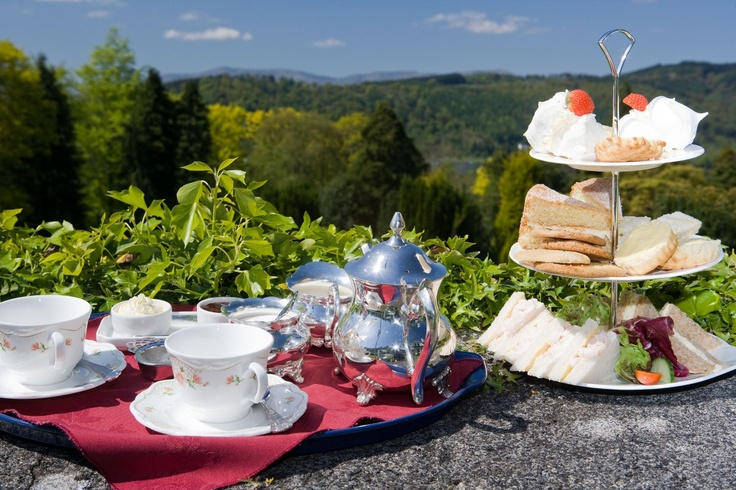 Nothing beats Afternoon Tea on the terrace (or lounge / dining room if the weather is not favourable!).