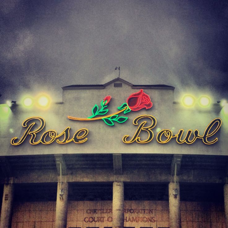 The Hawkeyes will go to the Rose bowl again some day. I'll be there!