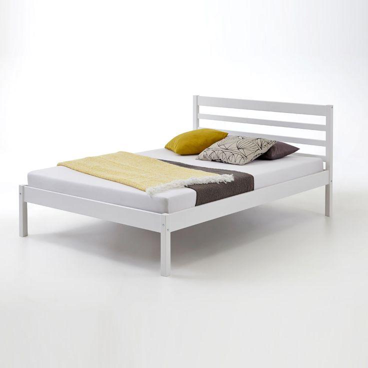Die besten 25+ Holzbett 90x200 Ideen auf Pinterest Holzfarbtöne - schlafzimmer landhausstil massiv