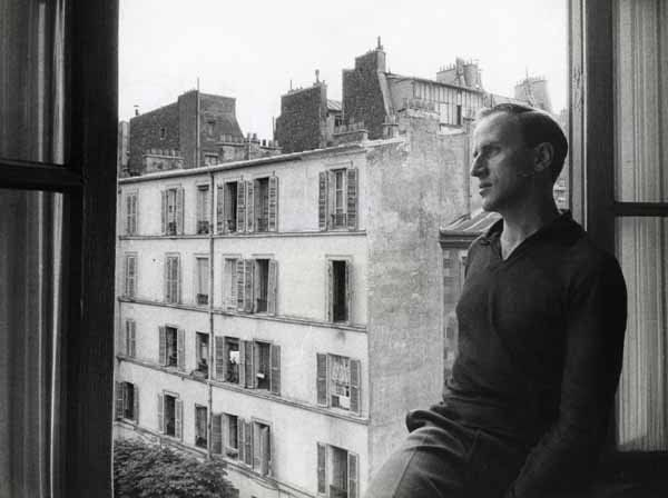 Boris Vian by Willy Ronis