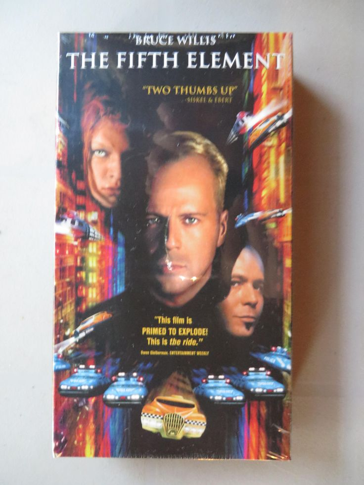 Excited to share the latest addition to my #etsy shop: 1997 'The Fifth Element' Brand New Sealed Vintage VHS Movie - Columbia Pictures Release - Bruce Willis - Milla Jovovich - Old New Stock http://etsy.me/2iYn2uT #everythingelse #birthday #christmas #newvhstape #vintagemovi