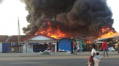 Fire Guts Popular Zamfara State Market   A popular second hand clothing market in Zamfara State has been razed down by a fire and goods worth over N20 million was destroyed by the fire.  Not actual photo  According to Vanguard twelve shops housing second hand clothes and other valuables belonging to traders were affected. One of the victims Alhaji Adamu Maigwanjo who spoke to newsmen on behalf of others said he lost over N3 million goods. He said many traders in the market even lost more. He therefore appealed to the government to come to their aid immediately so that they could resume business particularly at this season of economic recession. The Executive Secretary of the state emergency management agency Malam Sanusi Kwatarkwashi said he has mobilized staff to carry out an assessment of the disaster. Kwatarkwashi who described the incident as very disheartening called on the victims to be patient and consider the disaster as an act of God. Both the traders and other residents in the state expressed worries over the failure of the state fire service to respond to the fire. The fire was put out by the combined efforts of the traders and residents around the market. The fire fighting vehicles of the state have either broken down or are short of fuel to carry out any rescue operation.  fire issues Market News nigerians PHOTOSPEAKS Zamfara State