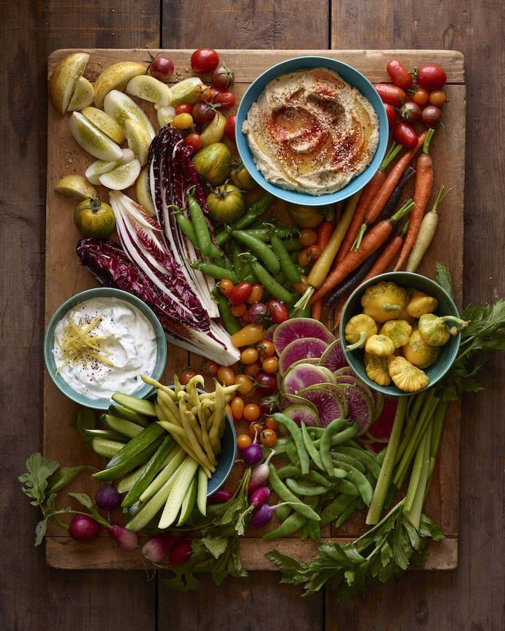 How To Assemble a Crudité Platter. Add a healthy and beautiful centerpiece to your next party table!