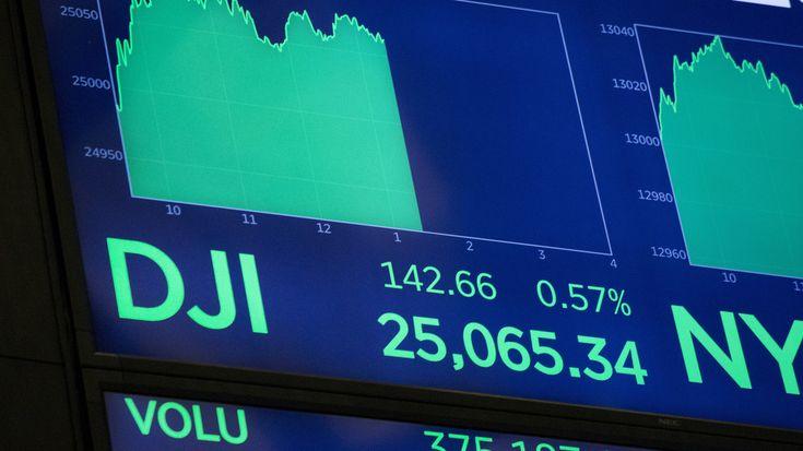 NPR News: Stocks Continue A Winning Streak; Dow Industrials Now Over 25000 #business #radio #music #broadcasting