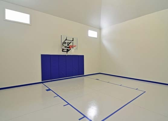 1000 images about sport court on pinterest mansions for Basement sport court