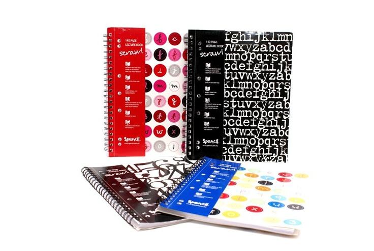 Scrawl A4 140pg Notebook