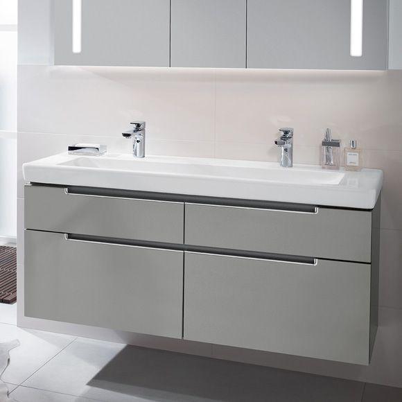 Villeroy Und Boch Waschtisch 1 Boch Fliesenspiegel Und Villeroy Waschtisch Bathroomdesignvilleroyboch Stylish Bathroom Bathroom Units Bathroom Style
