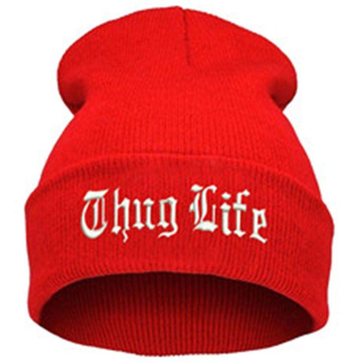THUG LIFE Letter ... http://www.jakkoutthebxx.com/products/thug-life-black-letter-hat-unisex-fashion-hip-hop-hat-cap-men-beanies-knitted-hats-for-women-sport-hats-gorros-bonnets-1mz0517-red?utm_campaign=social_autopilot&utm_source=pin&utm_medium=pin  #wanelo #shoppingtime #whattobuy #onlineshopping #trending #shoppingonline #onlineshopping #new