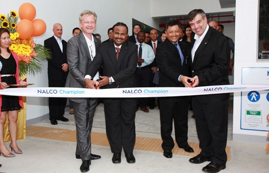 Ecolab Opens Doors of New Manufacturing Facility in Singapore | Ecolab