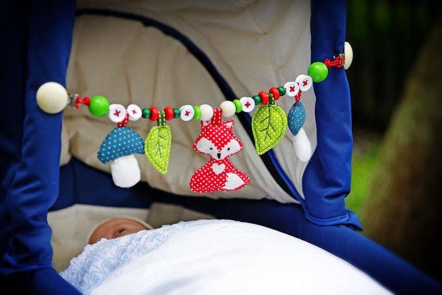 **Am liebsten selbstgemacht: Kinderwagenkette, Kinderwagenanhänger oder Mobile – detaillierte Anleitung inkl. Schnittmuster in Originalgröße – ein tolles Geschenk für frischgebackene Eltern, zur...