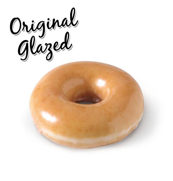 Krispy kream Original glazed!! to die for...