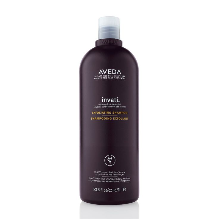 A shampoo designed to exfoliate the scalp and prevents hair breakage and loss.