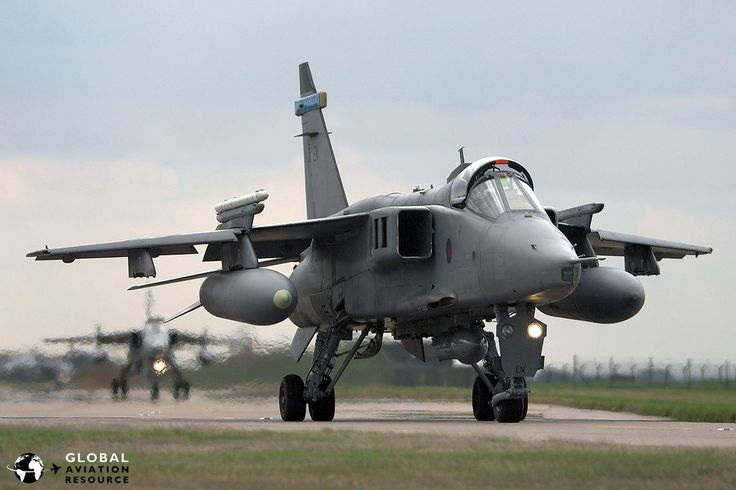 Military Aviation >> Royal Air Force: Flying The Sepecat Jaguar - The Online Aviation Magazine - Global Aviation Resource