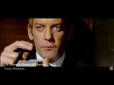 Early Movie Roles : Donald Sutherland in 'Dr. Terror's House of Horrors' (1965) - YouTube