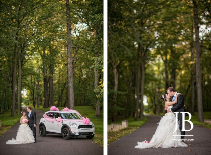 Jingjing Ethans Beautiful Outdoor Ceremony At Their Philadelphia Belle Voir Manor Fall Wedding