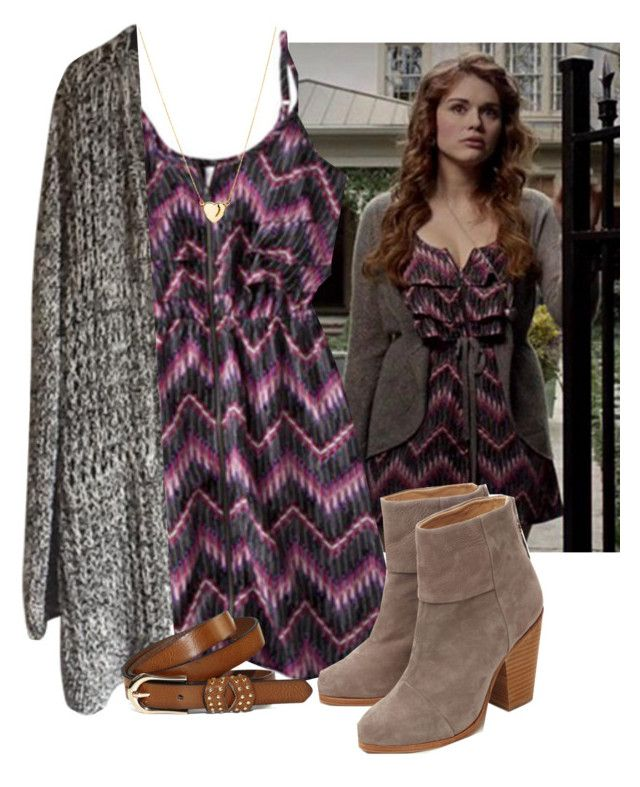 """Lydia Martin Style"" by katherine224 ❤ liked on Polyvore featuring rag & bone"