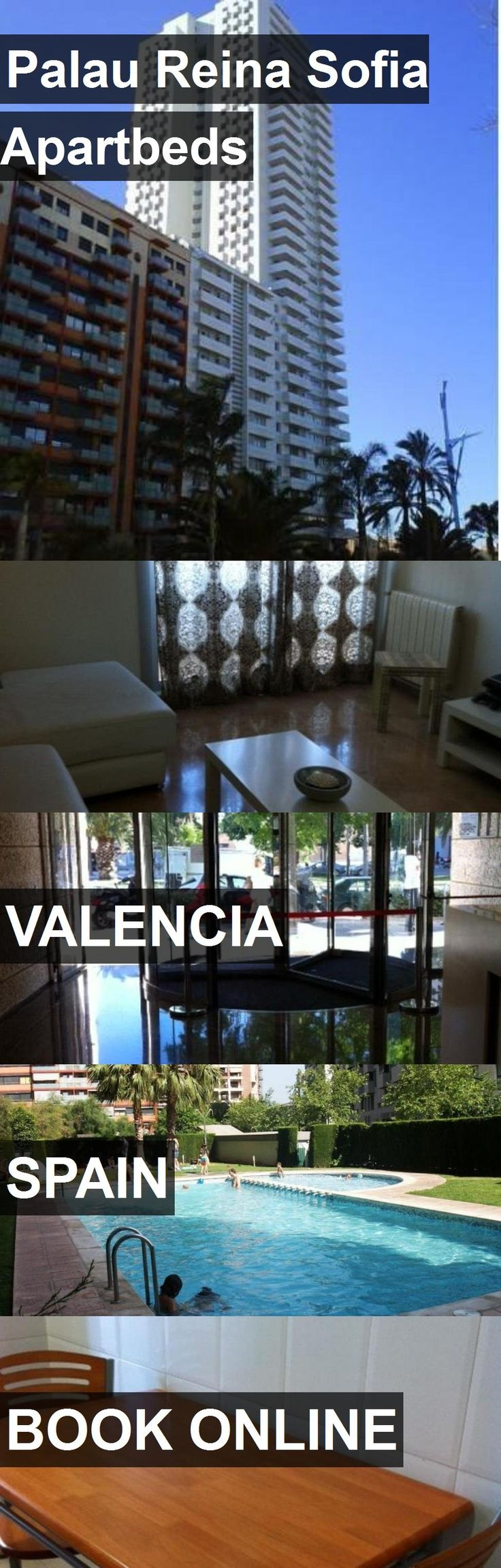Hotel Palau Reina Sofia Apartbeds in Valencia, Spain. For more information, photos, reviews and best prices please follow the link. #Spain #Valencia #travel #vacation #hotel