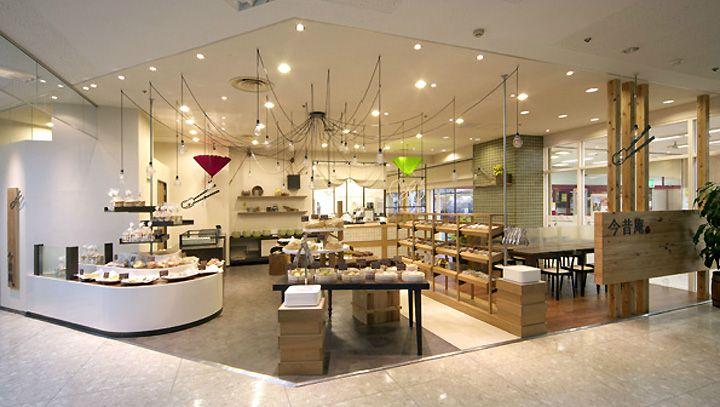 Konjaku an store by Inly Design, Osaka