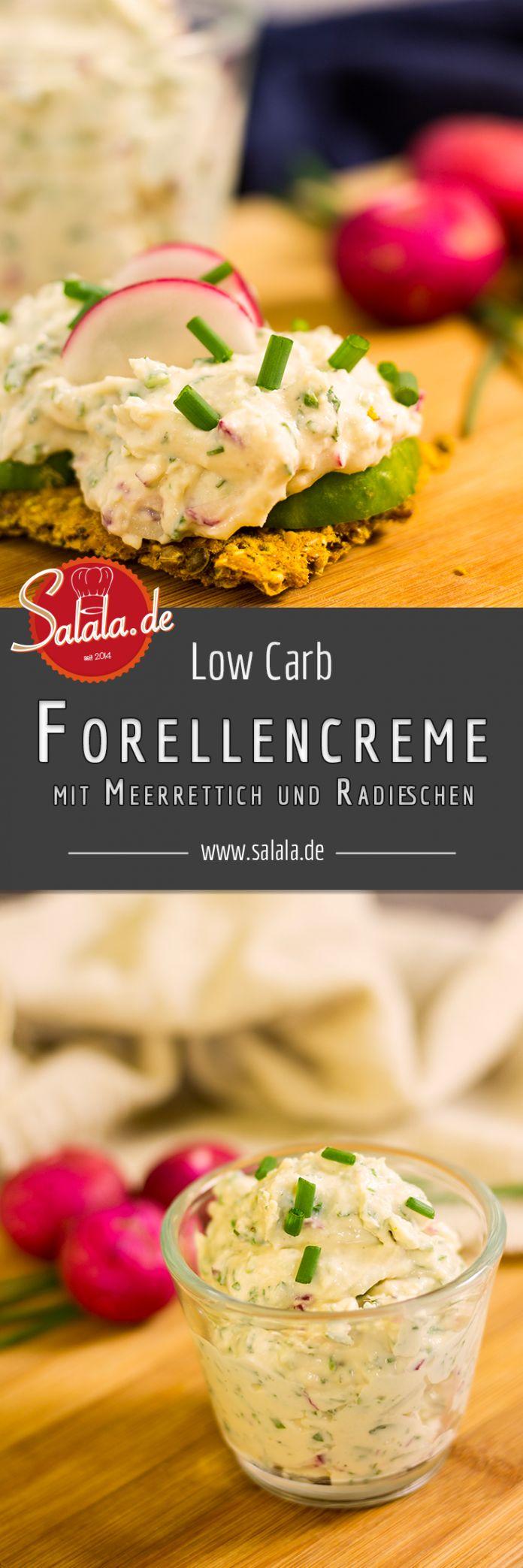 Low Carb Fischcreme mit Meerrettich – Monika Schneider