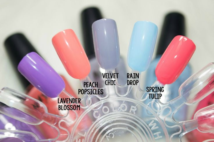NYC In a New York Minute Quick Dry Nail Polishes