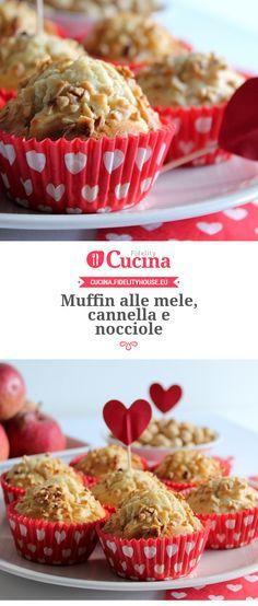 #Muffin alle #mele, #cannella e #nocciole della nostra utente Giovanna. Unisciti alla nostra Community ed invia le tue ricette!