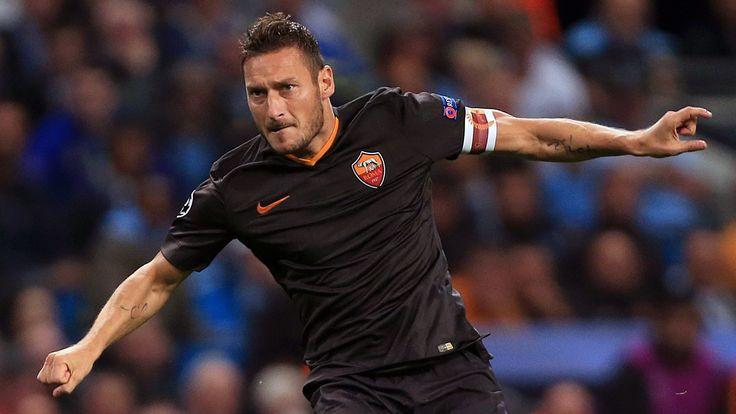 Francesco Totti confirms retirement and takes up directorship role at Roma #News #composite #Football #francescototti #Roma