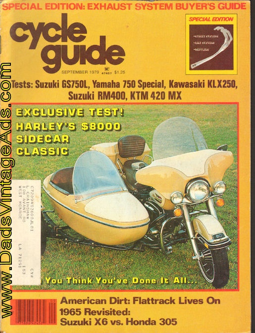 1979 Harley-Davidson Sidecar Classic – not a bike, not a car but an event