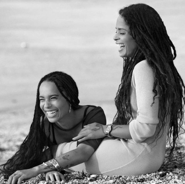 Lisa Bonet & Zoë Kravitz for 2016 Calvin Klein Watches & Jewelry