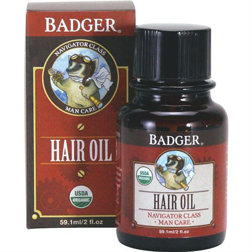 Badger Men's Hair Oil - Navigator Class Man Care