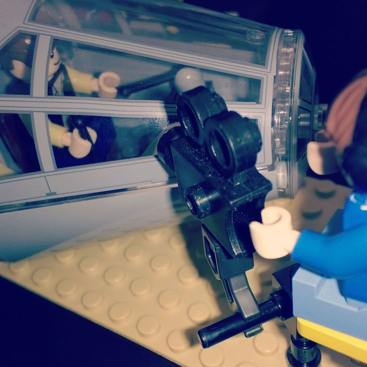 Behind the scenes of Star Wars (Lego)