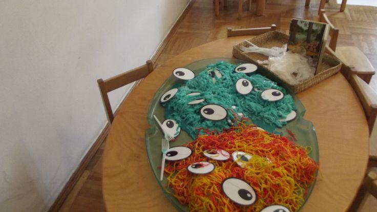 The Gruffalo inspired sensory play @ Acorns Nursery Bucharest