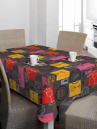 Faţă de masă Bonita - Faţă de masă din material plastic, uşor de curăţat, cu un design impresionant pentru amatorii stilului mediteranean