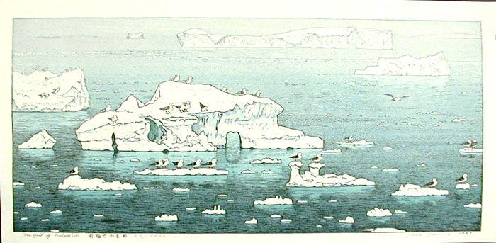 """""""Sea Gull of Antarctic"""" by Yoshida, Toshi"""