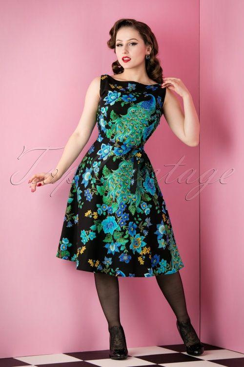 Heart of Haute Monique Dress Peacock 105 14 12947 20151118 011W