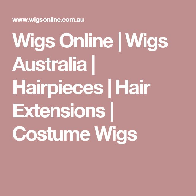 Wigs Online | Wigs Australia | Hairpieces | Hair Extensions | Costume Wigs