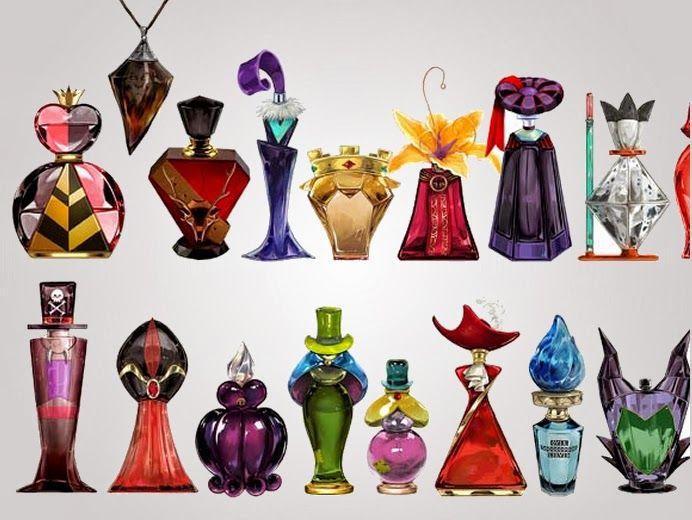 Perfumes de villanos de Disney, ¡ yo quiero todos ¡