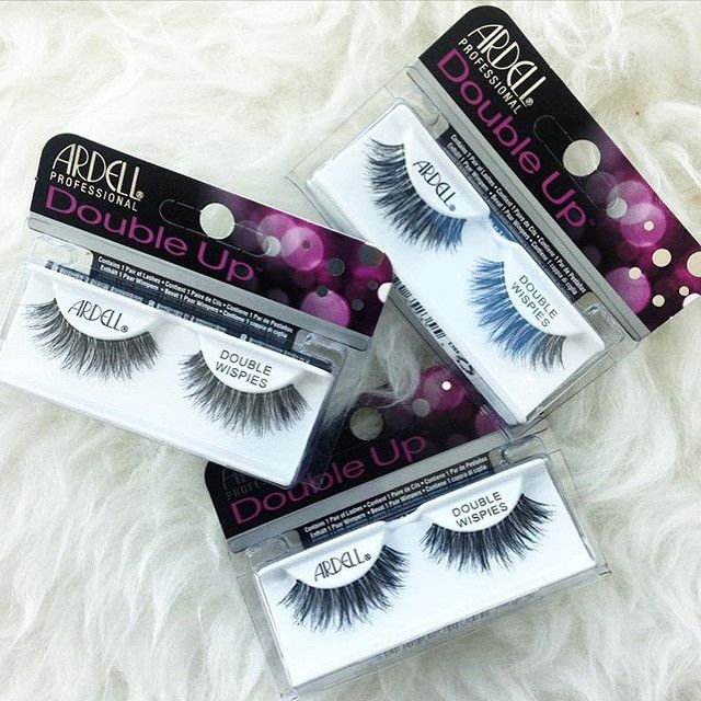 Loving these new Ardell Double Up Wispies Black false eyelashes from @madame_madeline_lashes (www.MadameMadeline.com)