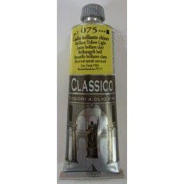 OLIO CLASSICO GIALLO BRILLANTE CHIARO 075 60 ML